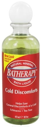 Zoom View - Batherapy Cold Discomforts Natural Mineral Bath Liquid
