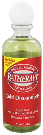 DROPPED: Queen Helene - Batherapy Cold Discomforts Natural Mineral Bath Liquid - 16 oz.