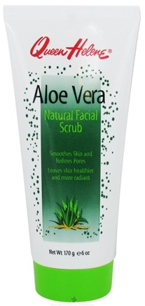 Zoom View - Natural Facial Scrub Aloe Vera