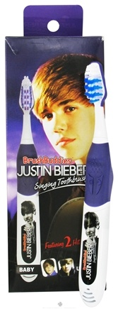 "Zoom View - Justin Bieber Singing Toothbrush ""Baby"" & ""U Smile"""