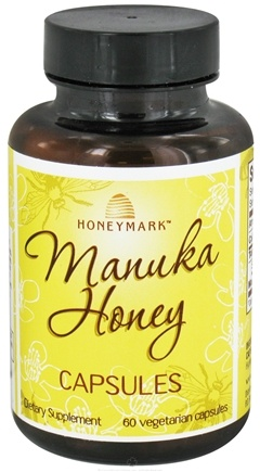 DROPPED: Honeymark - Manuka Honey Capsules - 60 Vegetarian Capsules