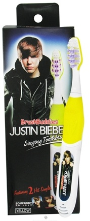 "Zoom View - Justin Bieber Singing Toothbrush ""Somebody To Love"" & ""Love Me"""