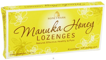 DROPPED: Honeymark - Manuka Honey Lozenges - 8 Lozenges