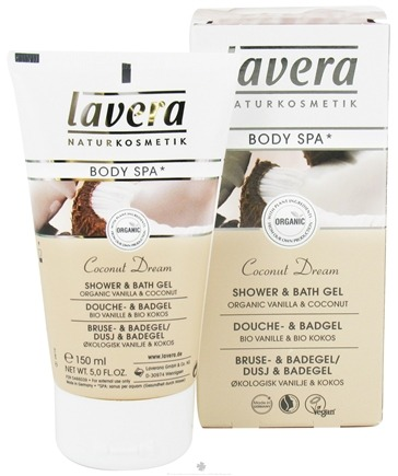 DROPPED: Lavera - Body Spa Organic Shower & Bath Gel Coconut Dream - 5 oz. CLEARANCE PRICED