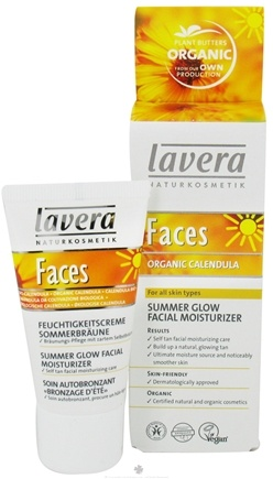 DROPPED: Lavera - Faces Summer Glow Facial Moisturizer Organic Calendula - 1 oz.