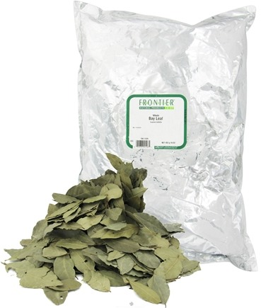 DROPPED: Frontier Natural Products - Bay Leaf Whole - 1 lb. CLEARANCE PRICED