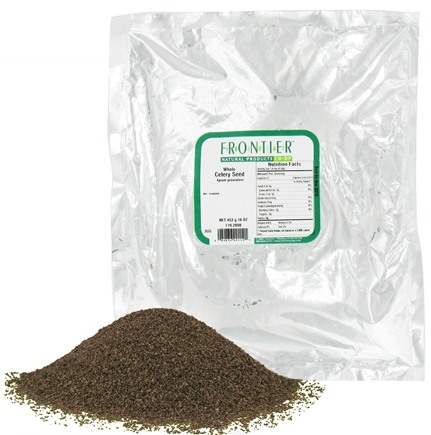 DROPPED: Frontier Natural Products - Celery Seed Whole - 1 lb.