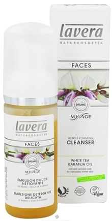 DROPPED: Lavera - MyAge Gentle Foaming Cleanser White Tea Karanja Oil - 1.69 oz. CLEARANCE PRICED