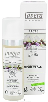 DROPPED: Lavera - MyAge Regnerating Night Cream White Tea Karanja Oil - 1 oz. CLEARANCE PRICED