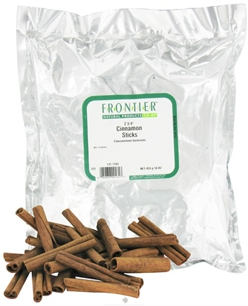 "DROPPED: Frontier Natural Products - Cinnamon Sticks Whole - 2 3/4"" - 1 lb."