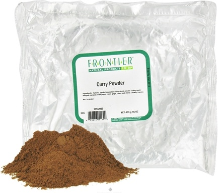DROPPED: Frontier Natural Products - Curry Powder - 1 lb. CLEARANCE PRICED