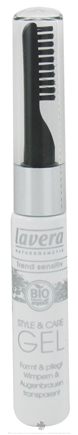DROPPED: Lavera - Style & Care Gel For Eyelashes and Eyebrows Clear - 0.3 oz.