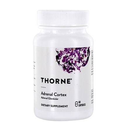 DROPPED: Thorne Research - Adrenal Cortex 50 mg. - 60 Vegetarian Capsules