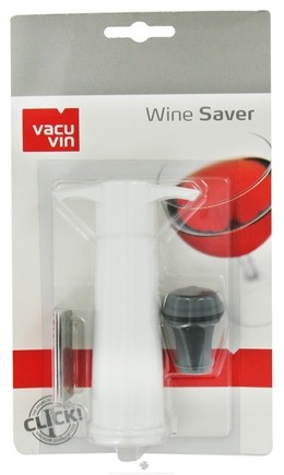 DROPPED: Vacu Vin - Wine Saver White - CLEARANCE PRICED