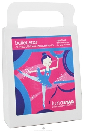 DROPPED: Luna Star - Ballet Star All-Natural Mineral Makeup Play Kit for Kids - CLEARANCE PRICED