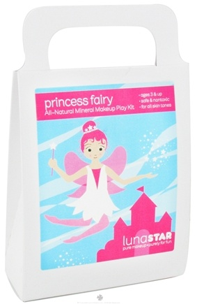 Zoom View - Princess Fairy All-Natural Mineral Makeup Play Kit for Kids