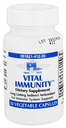 DROPPED: Progressive Laboratories - Vital Immunity - 30 Vegetarian Capsules CLEARANCE PRICED