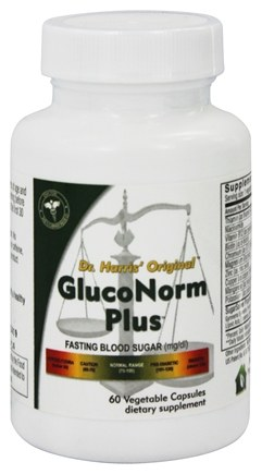 DROPPED: Dr. Harris Original - Gluco-norm - 60 Capsules