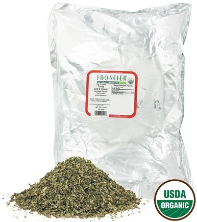 DROPPED: Frontier Natural Products - Catnip Leaf & Flower Cut & Sifted Organic - 1 lb. CLEARANCE PRICED