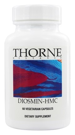DROPPED: Thorne Research - Diosmin-HMC - 60 Vegetarian Capsules