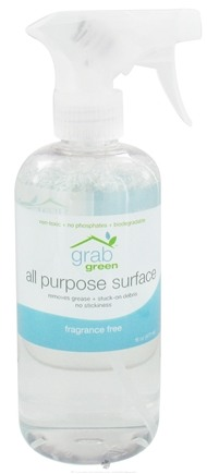 DROPPED: Grab Green - All Purpose Surface Cleaner Fragrance Free - 16 oz. CLEARANCE PRICED