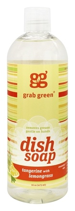 DROPPED: Grab Green - Dish Soap Tangerine with Lemongrass - 16 oz.