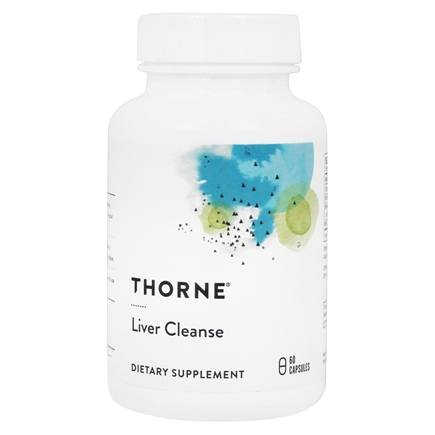 DROPPED: Thorne Research - Liver Cleanse - 60 Vegetarian Capsules