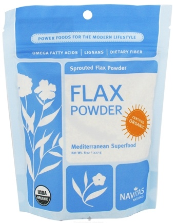DROPPED: Navitas Naturals - Sprouted Flax Powder Certified Organic - 8 oz.