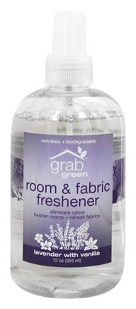 DROPPED: GrabGreen - Room & Fabric Freshener Lavender with Vanilla - 12 oz.