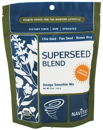 Zoom View - Superseed Blend Omega Smoothie Mix Certified Organic