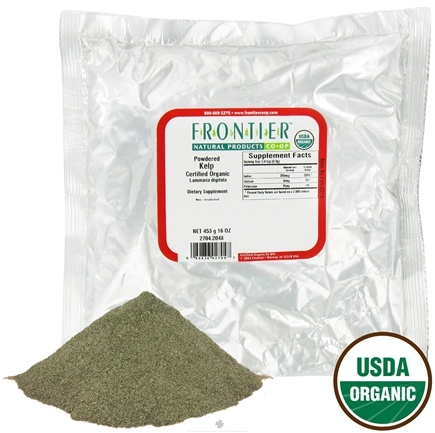 DROPPED: Frontier Natural Products - Kelp Powdered Organic - 1 lb.
