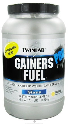 DROPPED: Twinlab - Gainers Fuel Pro Vanilla - 4.1 lbs. CLEARANCE PRICED