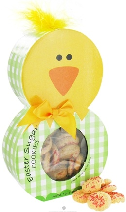 DROPPED: Too Good Gourmet - Sugar Cookies with Sprinkles in Easter Chick Character Box - 7 oz.