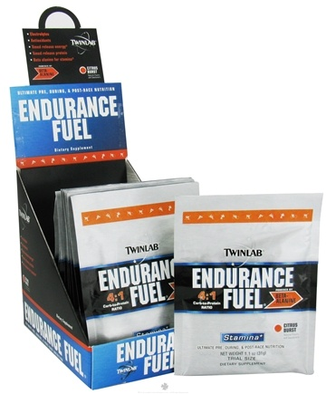 DROPPED: Twinlab - Endurance Fuel Stamina Powder Citrus Burst - 1.1 oz. CLEARANCE PRICED
