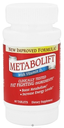 DROPPED: Twinlab - Metabolift With Vitamin D3 - 60 Tablets CLEARANCE PRICED