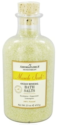 Zoom View - Muscle Soak Ocean Mineral Bath Salts Aromatherapy