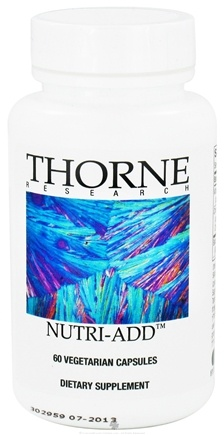 DROPPED: Thorne Research - Nutri-ADD - 60 Vegetarian Capsules