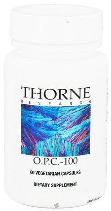 DROPPED: Thorne Research - O.P.C. 100 mg. - 60 Vegetarian Capsules CLEARANCE PRICED