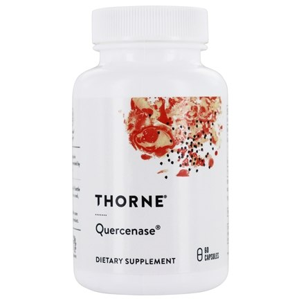DROPPED: Thorne Research - Quercenase - 60 Vegetarian Capsules CLEARANCE PRICED