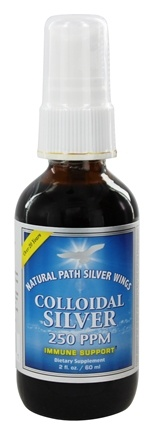 Zoom View - Colloidal Silver Spray