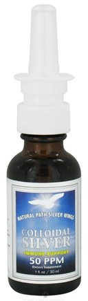 DROPPED: Natural Path Silver Wings - Colloidal Silver 50 Ppm - 1 oz.