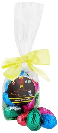 Zoom View - Chocolate Easter Eggs 12 Count Bag Vegan