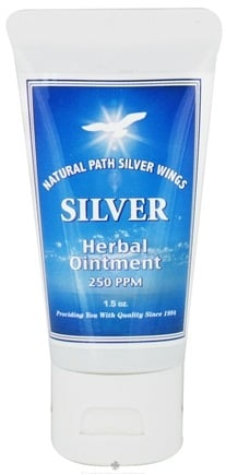 Natural Path Silver Wings - Silver Herbal Ointment - 1.5 oz.