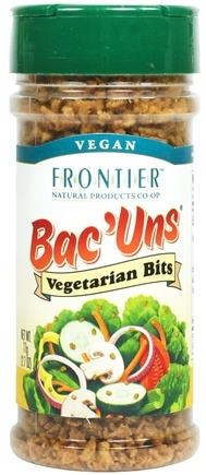 DROPPED: Frontier Natural Products - Bac'uns Vegetarian Bits - 2.7 oz. CLEARANCE PRICED
