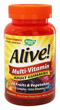 Zoom View - Alive Multi-Vitamin Adult Gummies