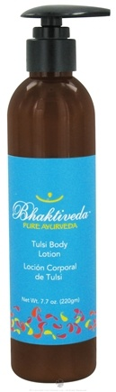 DROPPED: Bhaktiveda - Pure Ayurveda Tulsi Body Lotion - 7.7 oz. CLEARANCE PRICED
