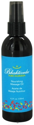 DROPPED: Bhaktiveda - Pure Ayurveda Nourishing Massage Oil - 4.2 oz. CLEARANCE PRICED