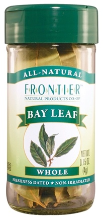 DROPPED: Frontier Natural Products - Bay Leaf Whole - 0.15 oz. CLEARANCE PRICED