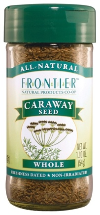 DROPPED: Frontier Natural Products - Caraway Seed Whole - 1.9 oz. CLEARANCE PRICED
