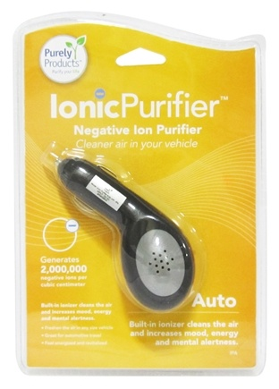 DROPPED: Purely Products - IonicLifestyle Compact Negative Ion Generator Auto Car 12-Volt